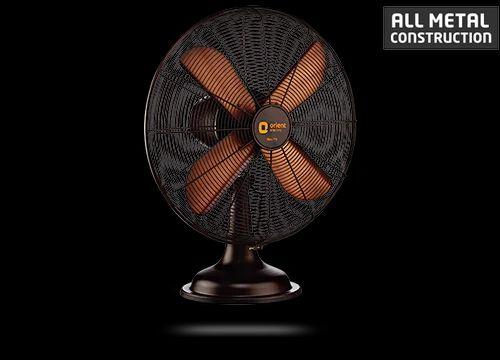 Rubbed Bronze Orient Retro T16 Table Fan