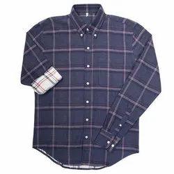 Cotton Full Sleeve Men's Designer Check Shirt