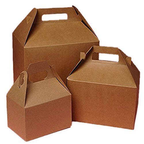 Corrugated Paper Box With Handle