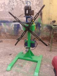 100 kg Slotted type Decoiler