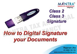 Class 3 Digital Signature Consultancy in Mumbai
