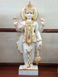 Vishnu Marble Statue