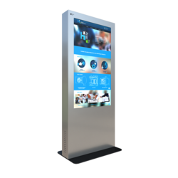 Indoor Exhibition Display Store Touch Screen Advertising Kiosk
