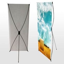 Printed X Banner Stand, For Advertising, Promotional