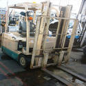 Repaired Forklift