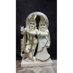 Lord Krishna and Radha Statue