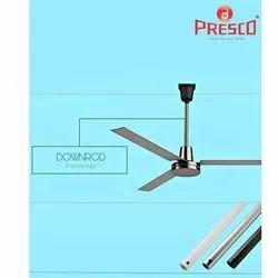 Presco Mild Steel Ceiling Fan Downrod, Size: 12 Inch