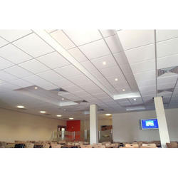 8 mm White T Grid False Ceiling