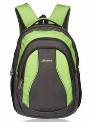 Grey & Parrot Green Storm Laptop Backpack Bag