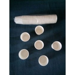 Paper White Disposable Coffee Cup, Packet Size: 50 Pieces, Capacity: 150 ML