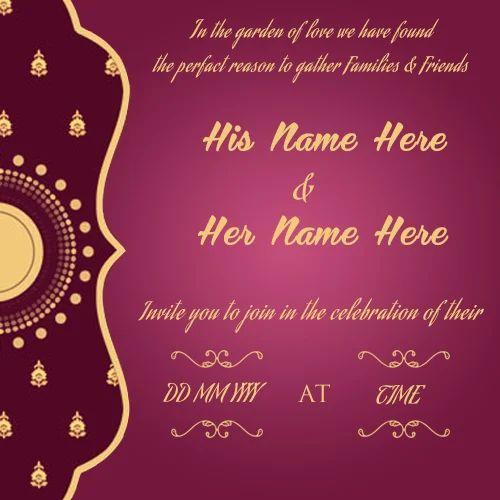 Wedding Ecards Invitation: Birthday Cardboard Invitation Card, Rs 16 /piece, Shreeram