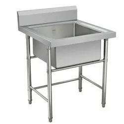 Polished Stainless Steel Wash Basin