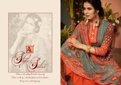Alok Suit Presnts Sara  Bandini Designer Print Salwar Suit