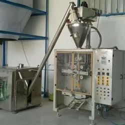 Automatic spice packaging machine auger type