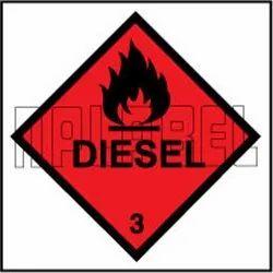 160029 Diesel Signs Vinyl Sticker