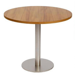 Wood Cafeteria Table,Shape : Round