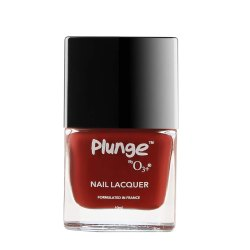 O3  Plunge Nail Paint Polish Lacquer Colour (Lady Plunge Red)