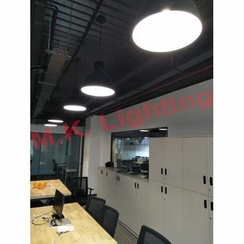 Led Aluminium Hanging Light For Office