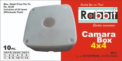 Rabbit & Repeat PVC CCTV Camera Accessories
