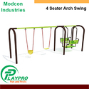 Modcon Ms/gi + Frp Four Seater Arch Swing
