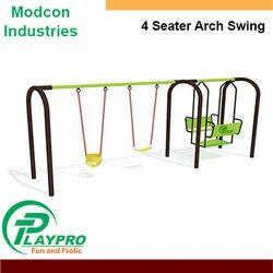 Modcon MS/GI + FRP Four Seater Arch Swing
