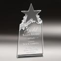 Star Designer Crystal Mementos