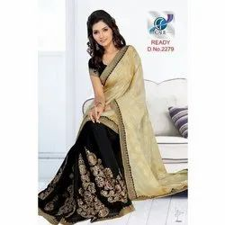 Fancy Trendy Half and Half Sarees