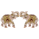Marble Elephant Decorative Gift
