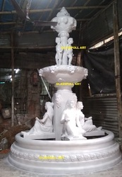 Fiberglass Garden Fountain For Garden