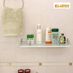Klaxon Bathroom Glass Shelves