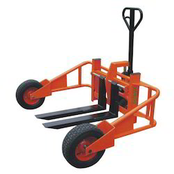 Dolmax Rough Terrain Hand Pallet Truck, For Material Handling, Lifting Capacity: 1000 Kg