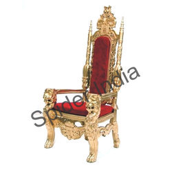 Outstanding Royal Golden Wedding Thrones Beutiful Home Inspiration Ommitmahrainfo