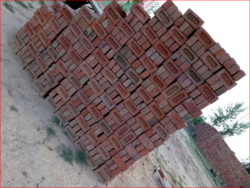 Red Bricks, Usage: Floor, Partition Wall, Side Wall, Rooftop