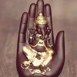 Polyresin Hand Ganesha Statue