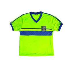 School Wear Half sleeves School Green House T Shirt, Size: Small
