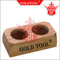 Gold Tool Jewellery Acid Bottle Wooden Stand