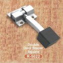 R-5022 Single Door Stoper Square  Stainless Steel Door Kit