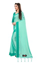 Ladies Festive Wear Cotton Silk Saree