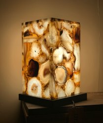 Semi Precious Stone Lamp