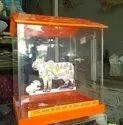 Acrylic Cow Donation Box
