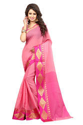 Designer Formal Wear Cotton Saree