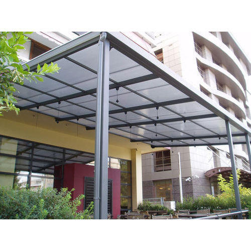 Polycarbonate Canopy at Rs 1500 square feet