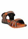 Mens Orange Sandal