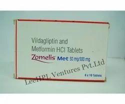 Zomelis Met 50 mg/500 mg Tablet