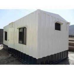 Rectangular Prefabricated Steel Office Cabin