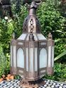 Gypsy White Medium Lamp