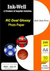Double Side Glossy Photo Paper RC