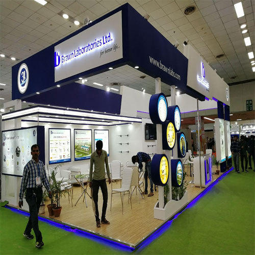 Exhibition Booth Fabrication In New : Exhibition booth fabrication service in shakarpur khas delhi