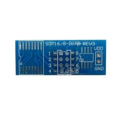 SOP16 To DIP8 Conversion Board IC Adapter Plate