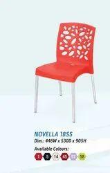 Nilkamal Multicolor Novella 18SS Chairs